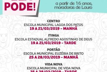 Prefeitura de Lauro de Freitas firma parceria para capacitação do programa Ela Pode