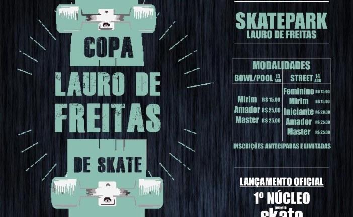 Prefeitura e Projeto Skate em Ação promovem Copa Lauro de Freitas de Skate nesse final de semana