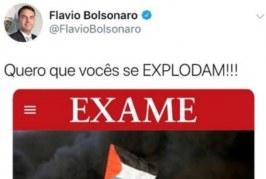 Hamas responde a tuíte de Flavio Bolsonaro e o chama de 'filho de extremista'