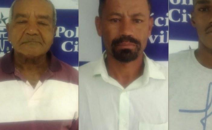 Avô é preso acusado de encomendar morte do neto por ser apaixonado pela companheira da vítima