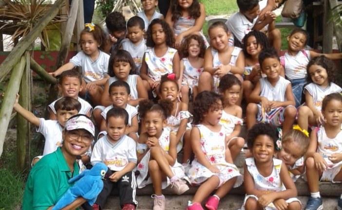 Parque Ecológico de Vilas recebe crianças da Escola Aquarela