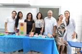 Prefeitura de Lauro de Freitas através da SEMDESC levando informações sobre Educação Alimentar e Nutricional
