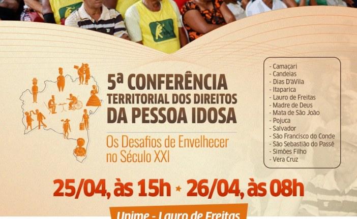 """Treze municípios discutem em Lauro de Freitas """"Os Desafios de Envelhecer no Século XXI"""""""