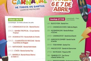 Pós Carnaval em Itinga deve atrair mais de dez mil pessoas neste final de semana