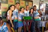 Lavagem da Arena Figa's reúne autoridades e moradores de Lauro de Freitas