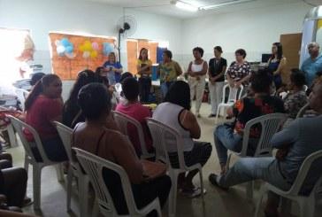 Pais e educadores da Amauri Montalvão discutem com secretária melhorias no processo educativo