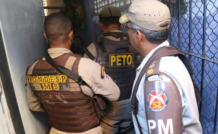Polícia negocia rendição em Portão