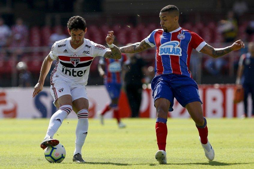 Bahia recebe o São Paulo para jogo de volta das oitavas de final da Copa do Brasil