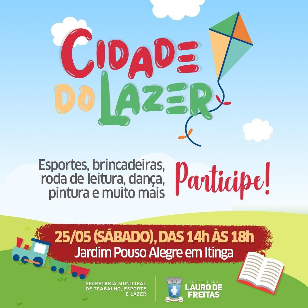 Programa Cidade do Lazer chega ao Loteamento Jardim Pouso Alegre em Itinga
