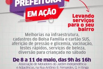 Prefeitura de Lauro de Freitas inicia mutirão de serviços nos bairros nesta quarta-feira (8)