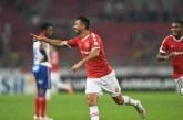Com cinco desfalques, Bahia é derrotado pelo Internacional