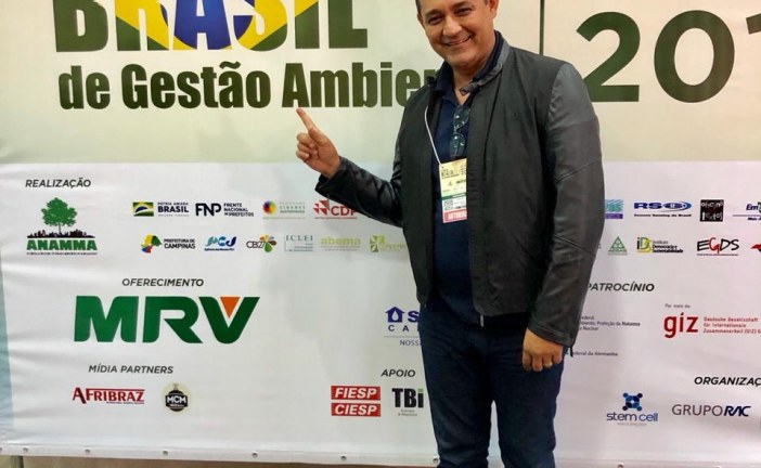 Secretário Alexandre Marques, participa em Campinas, do II Fórum Brasil de Gestão Ambiental