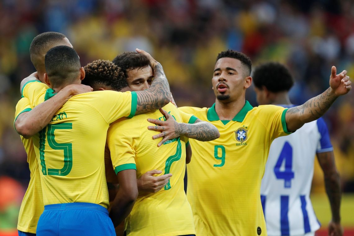 Brasil e Paraguai abrem hoje quartas de final da Copa América