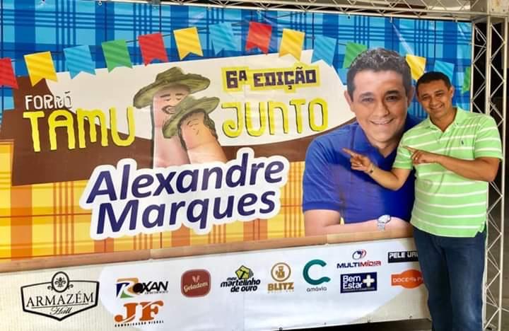 """A 6ª edição do Forró """"Tamu Junto"""" de Alexandre Marques, foi sucesso mais uma vez e lotou o Armazém Hall"""