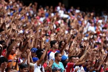 Bahia divulga que 40 mil ingressos já foram vendidos para partida contra o Grêmio