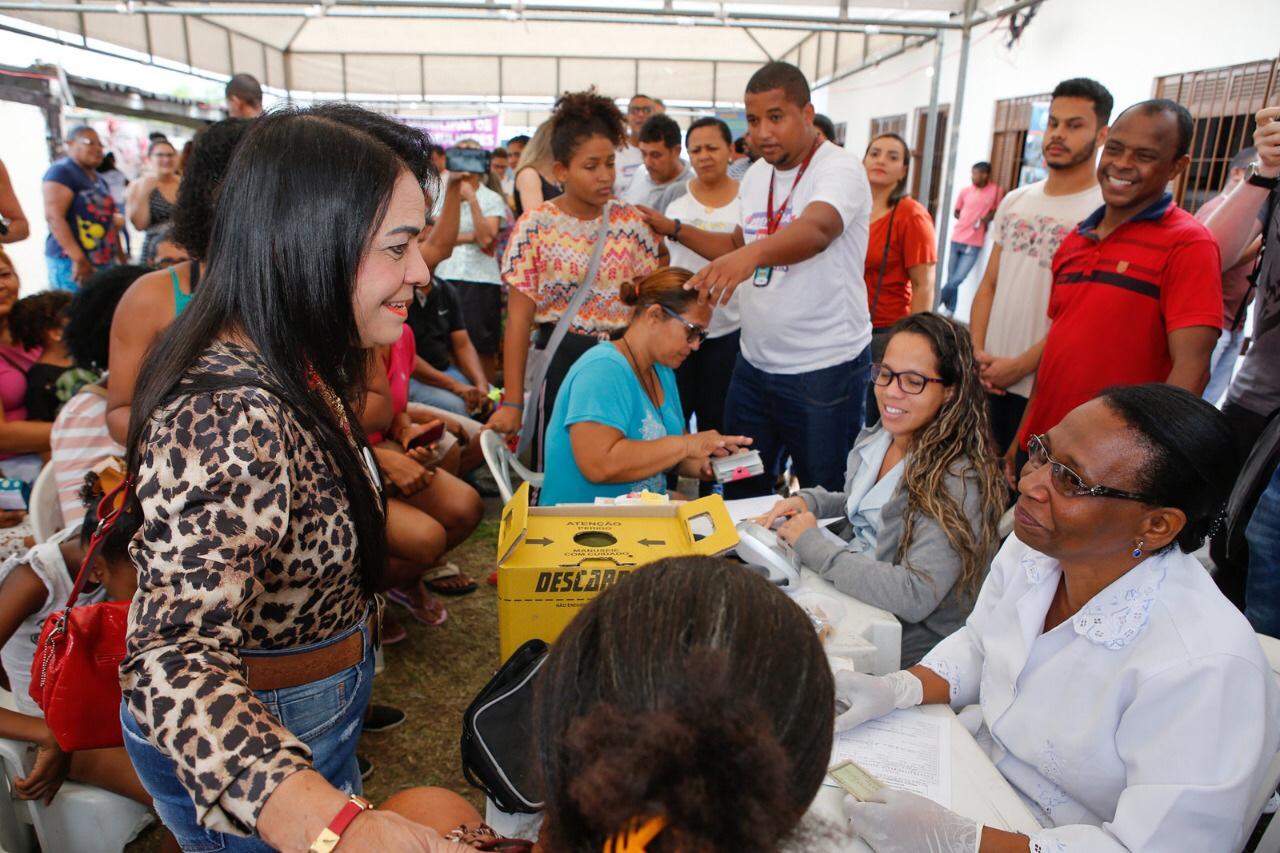 Prefeitura em Ação realiza mais de 2 mil atendimentos no Parque São Paulo, em Itinga