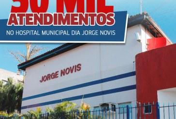 Hospital Municipal Jorge Novis comemora 50 mil atendimentos em dois anos