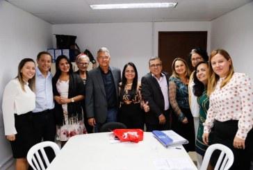 Moema reúne-se com representantes das cidades que integram o Consórcio Metro Recôncavo Norte e define orçamento da Policlínica em Simões Filho