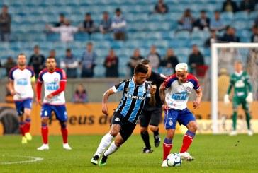 Bahia busca o empate contra o Grêmio e leva decisão para a Arena Fonte Nova