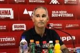 Técnico do Vitória lamenta empate com o América-MG no Barradão