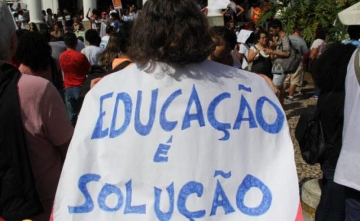 Atos pela Educação acontecem hoje em 150 cidades; concentração em Salvador será no Campo Grande