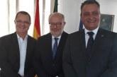 Rui Costa se reúne com embaixadores da Itália e da Espanha