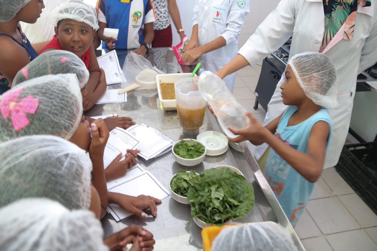 Cresan promove oficina de lanches saudáveis para crianças da Vila Praiana