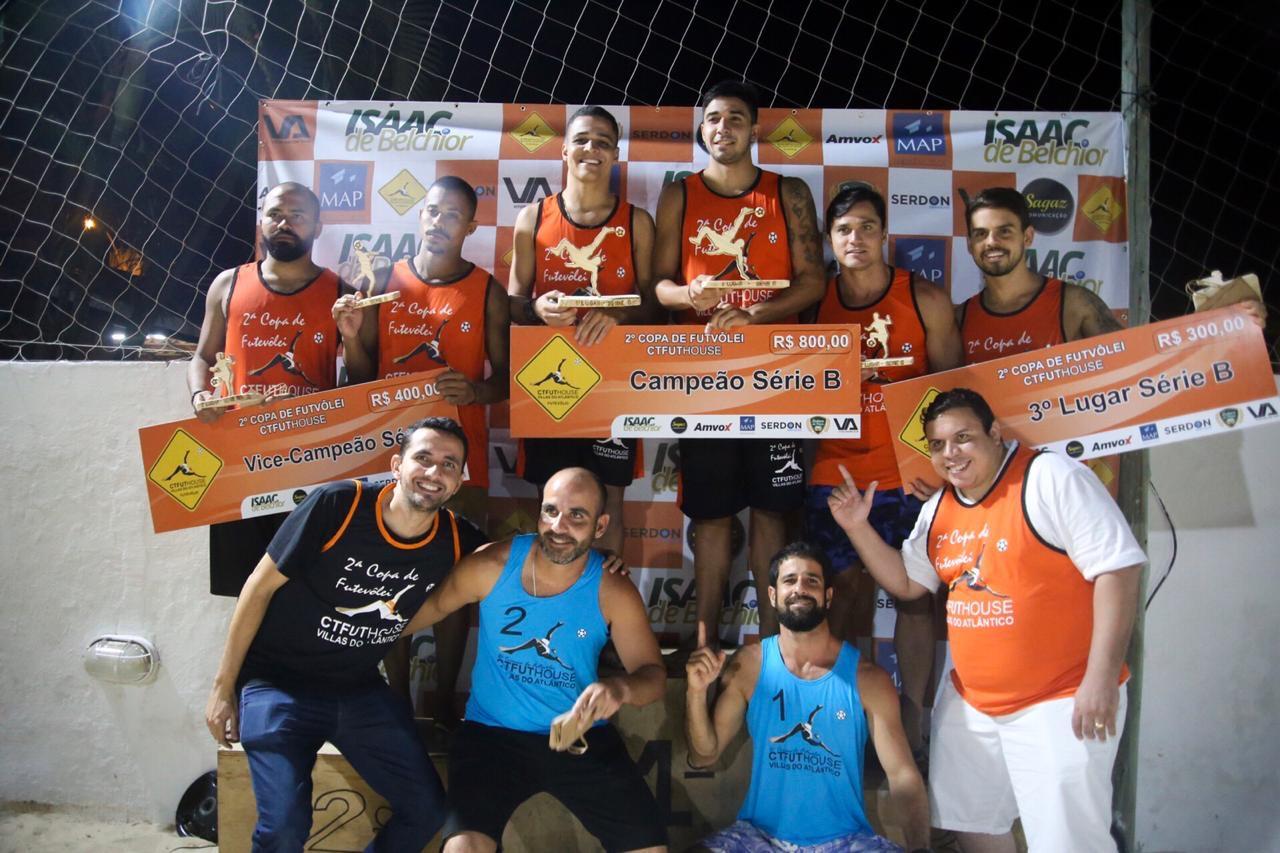 Vereador Isaac de Belchior acompanha 2ª Copa de Futevolei em Lauro de Freitas