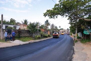 Seinfra reforça ações de recuperação asfáltica no Capelão