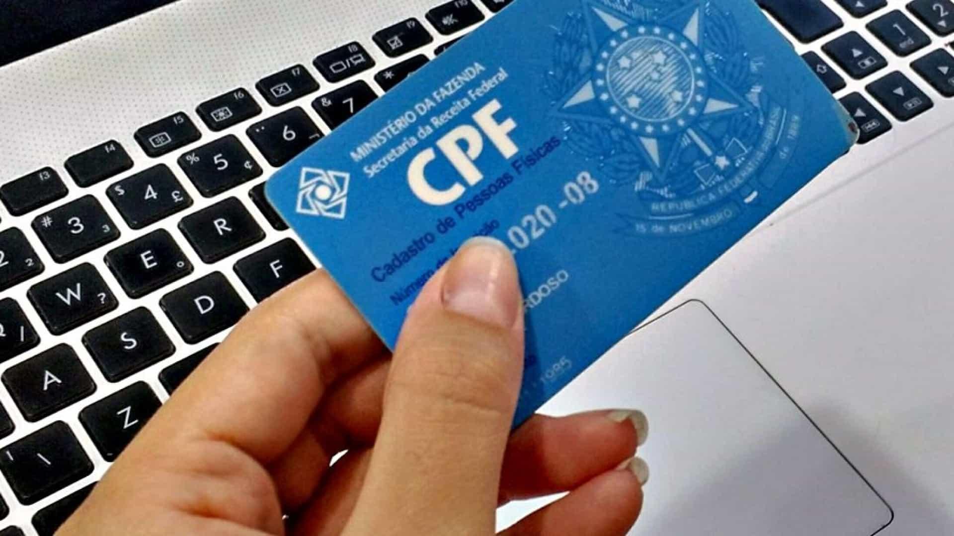 Emissão de CPF e restituição de IR voltam a ter risco de suspensão