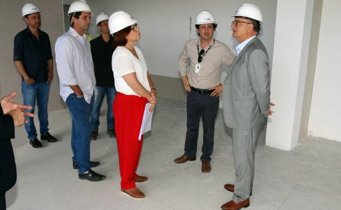 Novo prédio da Central de Regulação será entregue até dezembro