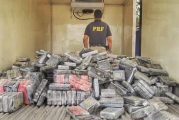 Cerca de 1 tonelada de cocaína é apreendida em Feira de Santana