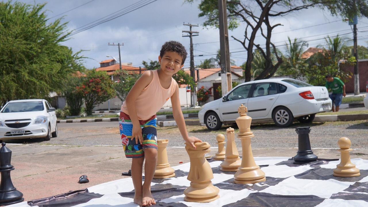 Cidade do Lazer marca Dia das Crianças no Aracui