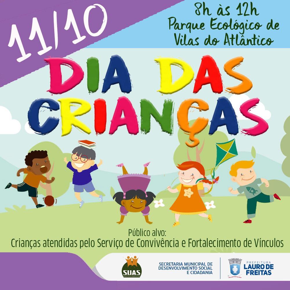 Parque Ecológico sediará atividades em comemoração ao Dia das Crianças