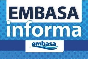 EMBASA informa que o fornecimento de água em Lauro de Freitas foi retomado na manhã desta sexta-feira (25)