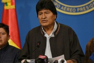 México aceita pedido de asilo político de Evo Morales