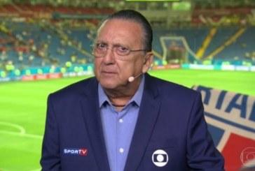 Galvão Bueno tem mal-estar em Lima e não narra final da Libertadores