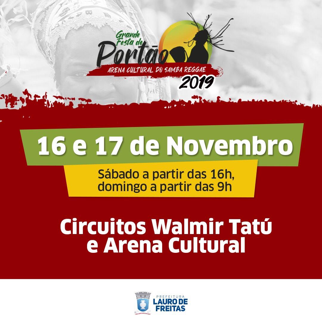 39ª Grande Festa de Portão agita Lauro de Freitas neste fim de semana
