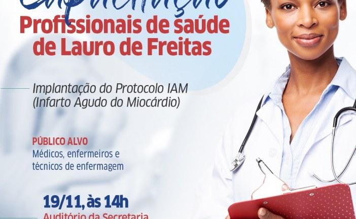 Profissionais da saúde recebem treinamento para emergências cardiovasculares