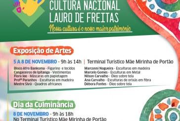 Semana da Cultura de Lauro de Freitas será aberta nesta terça-feira (5)
