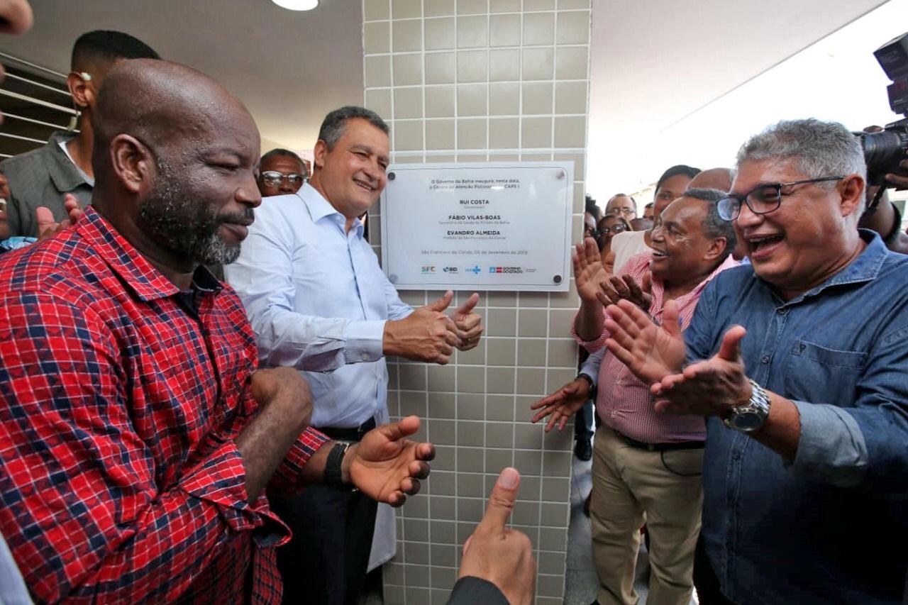Rui inaugura novo Caps e Academia da Saúde em São Francisco do Conde