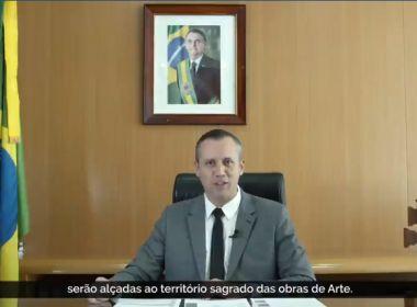 Secretário da Cultura de Bolsonaro usa propaganda nazista em discurso oficial