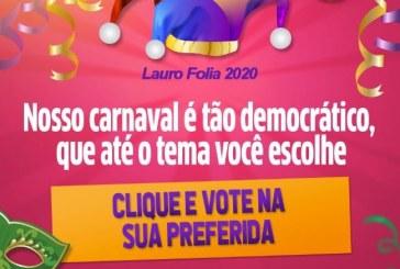 Vote e escolha o tema do carnaval de Lauro de Freitas 2020; veja como é fácil