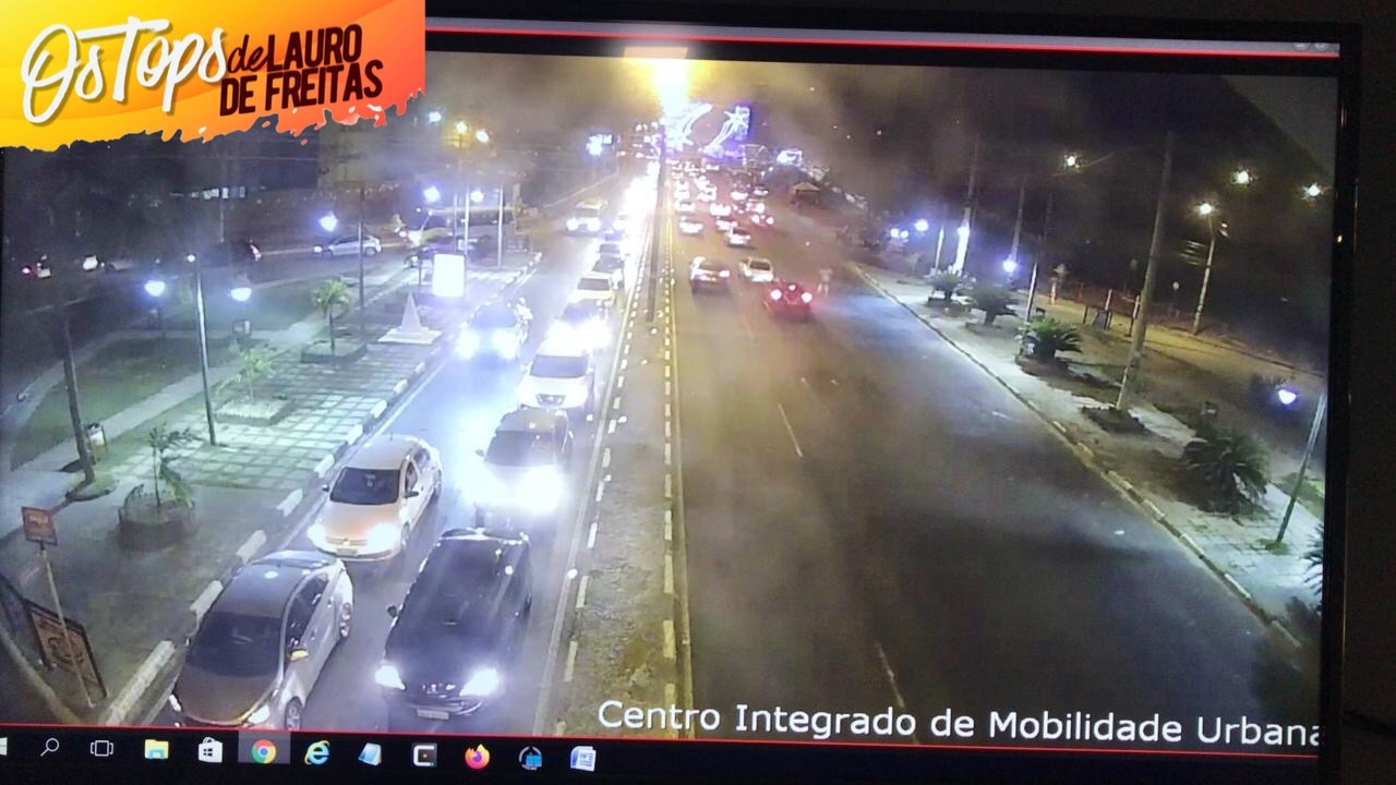 Atenção: Settop informa a interdição parcial de algumas vias em Lauro de Freitas, na noite deste domingo, (12). Entenda