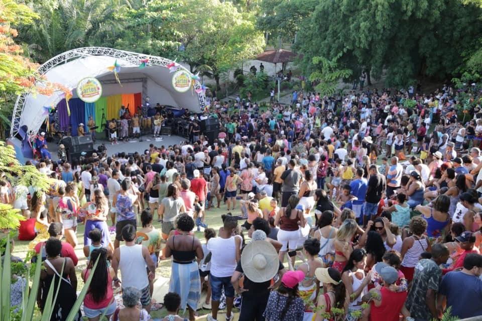 Milhares de pessoas lotam o Parque Ecológico no encerramento da 2ª edição do Projeto Trilha das Artes