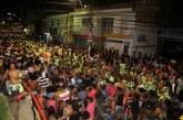 Terceiro dia do Lauro Folia teve pagodão, homenagem a capoeiristas e muita animação no Centro da cidade
