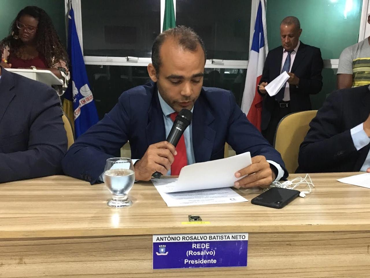 PL do vereador Rosalvo, que torna de Utilidade Pública a Associação Carnavalesca e Cultural do Centro de Lauro de Freitas é aprovado