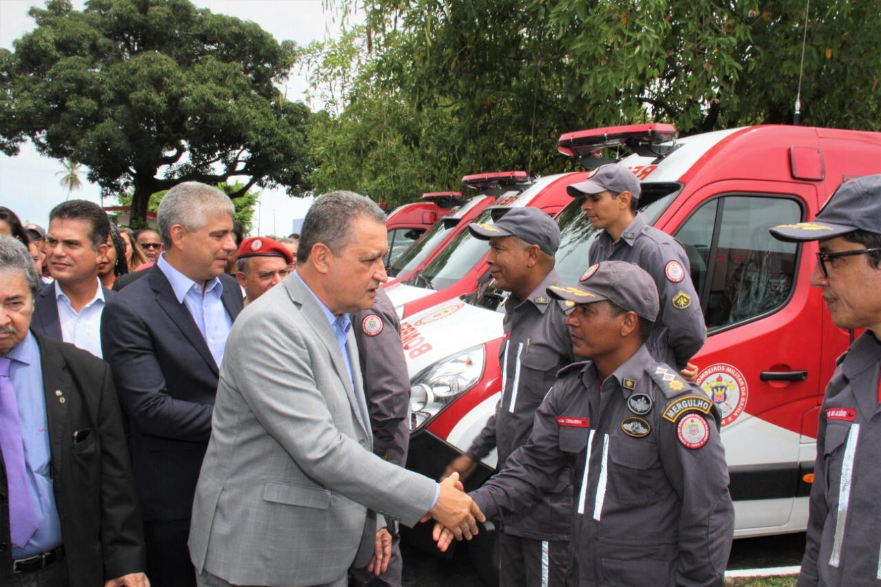 Bombeiros têm investimento de R$ 6,5 milhões em viaturas e equipamentos