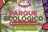 Atenção para o horário de funcionamento do Parque Ecológico no Carnaval