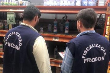 Coronavírus: Faltam máscaras e álcool em gel nas prateleiras em Lauro de Freitas